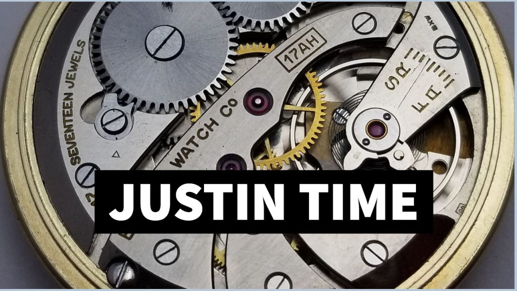 Justin Time - Watch Repair